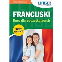 Książki dla dzieci, Francuski kurs dla początkujących książka +cdmp3 (opr. miękka)