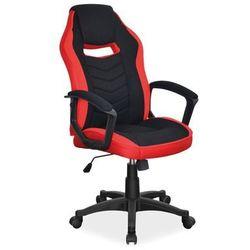 Fotel Signal CAMARO gamingowy czarny/czerwony, obciążenie do 140 kg!