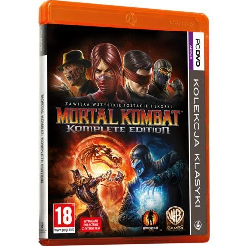 Gry na PC, Mortal Kombat Komplete (PC)