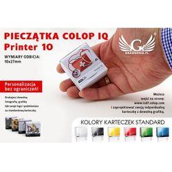 Pieczątka samotuszująca COLOP Printer 10 - wymiar płytki tekstowej: 10 x 27mm