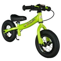 """Star trademarks Rowerek biegowy 10"""" niski od 2 lat bikestar germany sport zielony (4260184710942)"""
