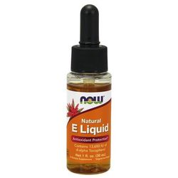 Now Foods Witamina E liquid 30ml