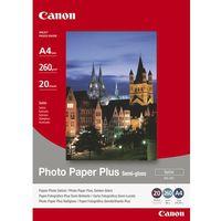 Papiery fotograficzne, Papier fotograficzny CANON Photo Paper Plus Semi-gloss 260g A4 SG-201