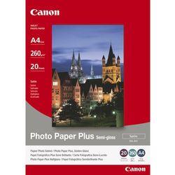 Papier fotograficzny CANON Photo Paper Plus Semi-gloss 260g A4 SG-201