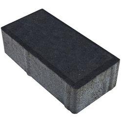 Kostka brukowa Polbruk Prostokąt 6 cm grafitowa