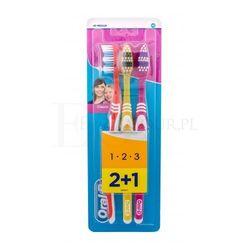 Oral-B Toothbrush Classic szczoteczka do zębów 3 szt unisex Red, Yellow, Pink