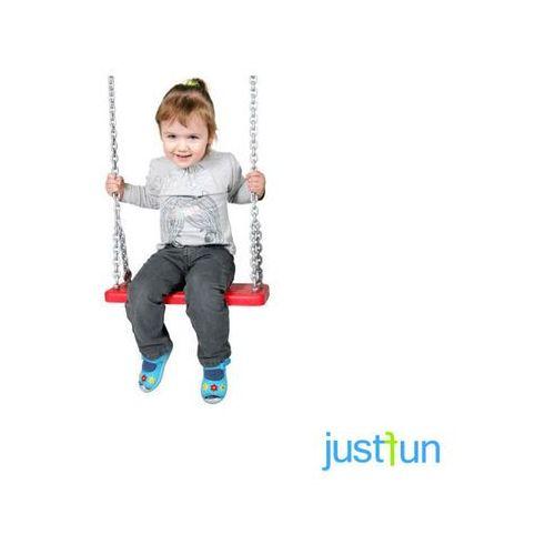 Huśtawki ogrodowe dla dzieci, Huśtawka gumowa + komplet łańcuchów ocynkowanych 5mm - 1,8 m