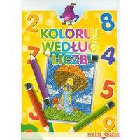 Pedagogika, Koloruj według liczb zeszyt 4 (opr. miękka)