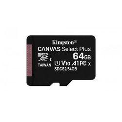 KINGSTON MicroSDXC 64GB 100MB/s SDCS2/64GBSP