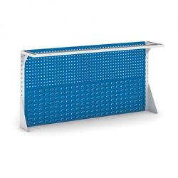 Panel nad stół 1800 mm, na narzędzia i plastikowe pojemniki