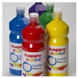 Farba tempera premium 1000 ml biała - HAPPY COLOR