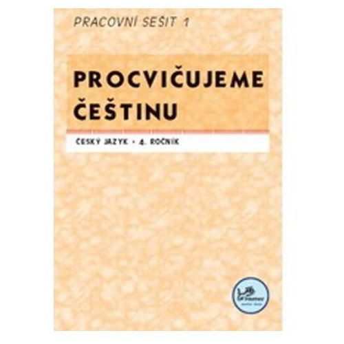 Pozostałe książki, Procvičujeme češtinu 4. ročník pracovní sešit 1 Josef Molnár