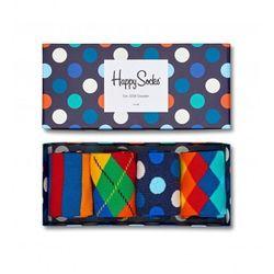 Skarpetki Happy Socks Giftbox (4-pak) XMIX09-6000 - Granatowy