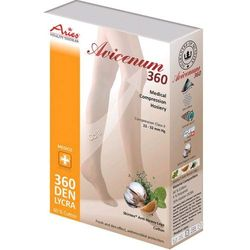 Aries Avicenum 360 COTTON - podkolanówki zdrowotne - bawełna 60%