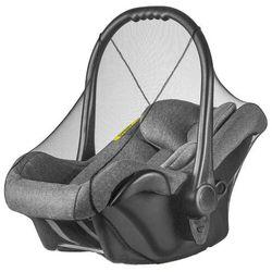 Moskitiera czarna do fotelika samochodowego dzieci - czarny