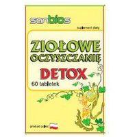 Detox i oczyszanie organizmu, Ziołowe oczyszczanie - DETOX (60 tabletek)