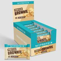 Odżywki białkowe, Białkowe Brownie - Biala czekolada