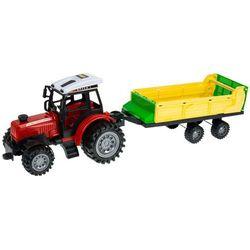 Zestaw 2x Ciągnik Traktor + Maszyny Rolnicze Mały Farmer