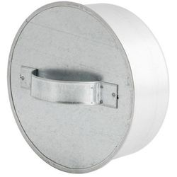 Zaślepka trójnika 100 mm ocynk