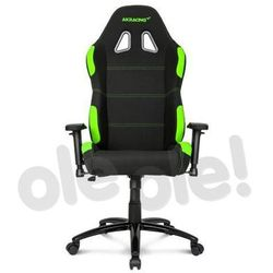 Akracing Gaming Chair K7012 (czarno-zielony) - produkt w magazynie - szybka wysyłka!