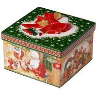 """Ozdoby świąteczne, Villeroy & Boch - Christmas Toys Pudełko Prezentowe """"Warsztat Świętego Mikołaja"""""""
