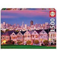 Puzzle, Puzzle 1500 elementów, Painted ladies San Francisco - DARMOWA DOSTAWA OD 199 ZŁ!!!
