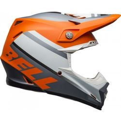 BELL KASK OFF-ROAD MOTO-9 PROPHECY MATT ORA/BLA/GR