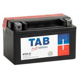 Akumulator motocyklowy TAB YTX7A-BS (MYTX7A-BS) 12V 6Ah 70A L+