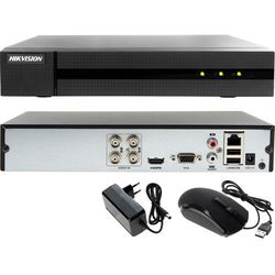 Rejestrator do monitoringu domu, firmy, garażu Hikvision Hiwatch HD-TVI AHD CVI IP HWD-6104MH-G2
