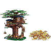 Klocki dla dzieci, Lego IDEAS Zestaw treehouse 21318