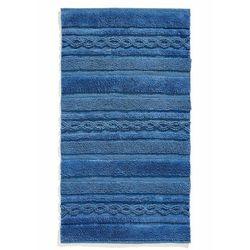 Dywaniki łazienkowe z ozdobnymi elementami w złotym kolorze bonprix niebieski