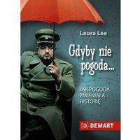 E-booki, EBOOK: Gdyby nie pogoda. Jak pogoda zmieniała historię - plik MOBI