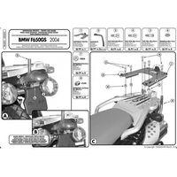 Stelaże motocyklowe, Kappa KR685 Stelaż centralny Bmw F 650 Gs (04 07)
