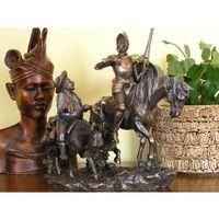 Rzeźby i figurki, ORYGINALNA RZEŹBA DON KICHOT I SANCHO PANSA (WU75196A4)