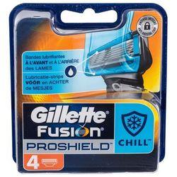 Gillette Fusion Proshield Chill wkład do maszynki 4 szt dla mężczyzn