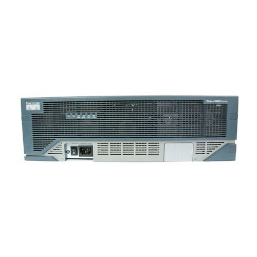 Routery i modemy ADSL, CISCO3845-HSEC/K9 Router Cisco 3845 Bund. w/AIM-VPN/SSL-3,Adv. IP Serv,25 SSL lic,128F/512D