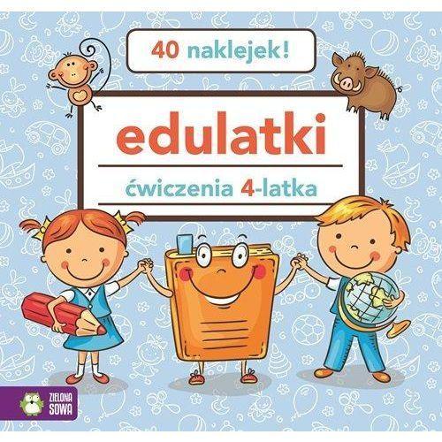 Książki dla dzieci, Edulatki Ćwiczenia 4-latka (opr. miękka)