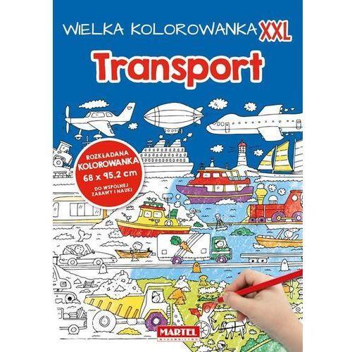 Kolorowanki, Wielka kolorowanka XXL - Transport - Praca zbiorowa