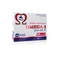Witaminy i minerały, Olimp OMEGA 3 plus wit. E 120kap