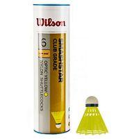 Badminton i speedminton, Lotki do badmintona Wilson Smashstar 6szt żółte 78 6050