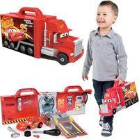 Warsztaty dla dzieci, SMOBY WARSZTAT MAC TRUCK WALIZKA AUTA 3 CARS ZYZAK