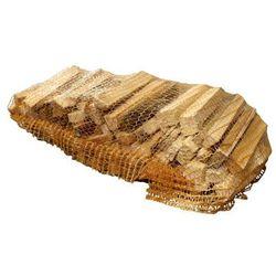 Drewno podpałkowe 35 x 55 cm siatka 22 l