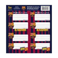 NAKLEJKI NA ZESZYTY FC BARCELONA BARCA FAN 6