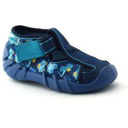 Kapcie dla dzieci Befado 190P090 Speedy - Niebieski ||Granatowy