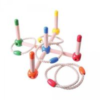 Gry dla dzieci, Gra latające obręcze - rzutki ringo
