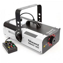 Beamz S1500LED Wytwornica mgły 1500 W 9 diod LED RGB 3 W DMX zbiornik 2,5 l