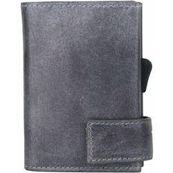 SecWal SecWal 2 Kreditkartenetui Geldbörse RFID Leder 9 cm grau ZAPISZ SIĘ DO NASZEGO NEWSLETTERA, A OTRZYMASZ VOUCHER Z 15% ZNIŻKĄ