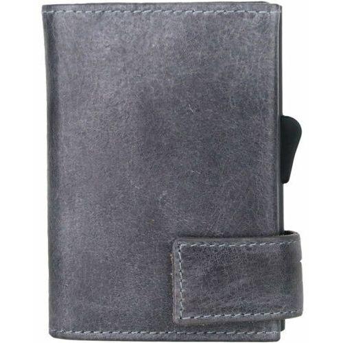 Etui i pokrowce, SecWal SecWal 2 Kreditkartenetui Geldbörse RFID Leder 9 cm grau ZAPISZ SIĘ DO NASZEGO NEWSLETTERA, A OTRZYMASZ VOUCHER Z 15% ZNIŻKĄ