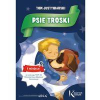Książki dla dzieci, PSIE TROSKI KOLOR KLASYKA BR. GREG 9788375175738 + zakładka do książki GRATIS (opr. miękka)