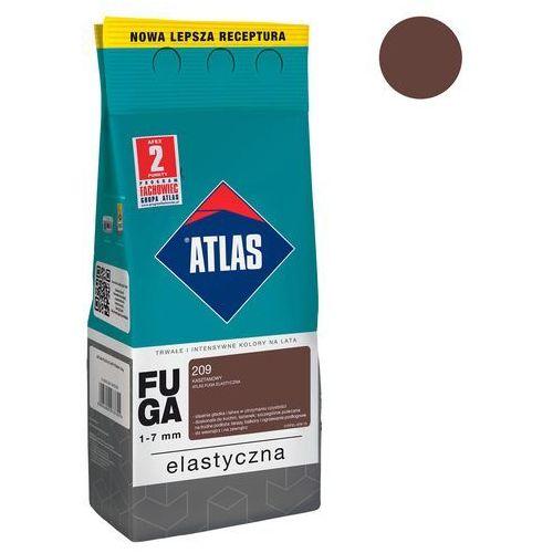 Fugi, Fuga cementowa 209 kasztanowy 2 kg ATLAS